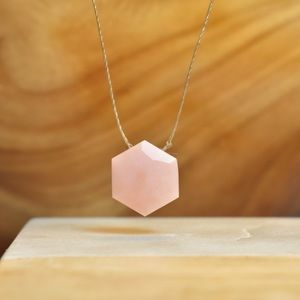 Jewelry - Pink Opal Necklace